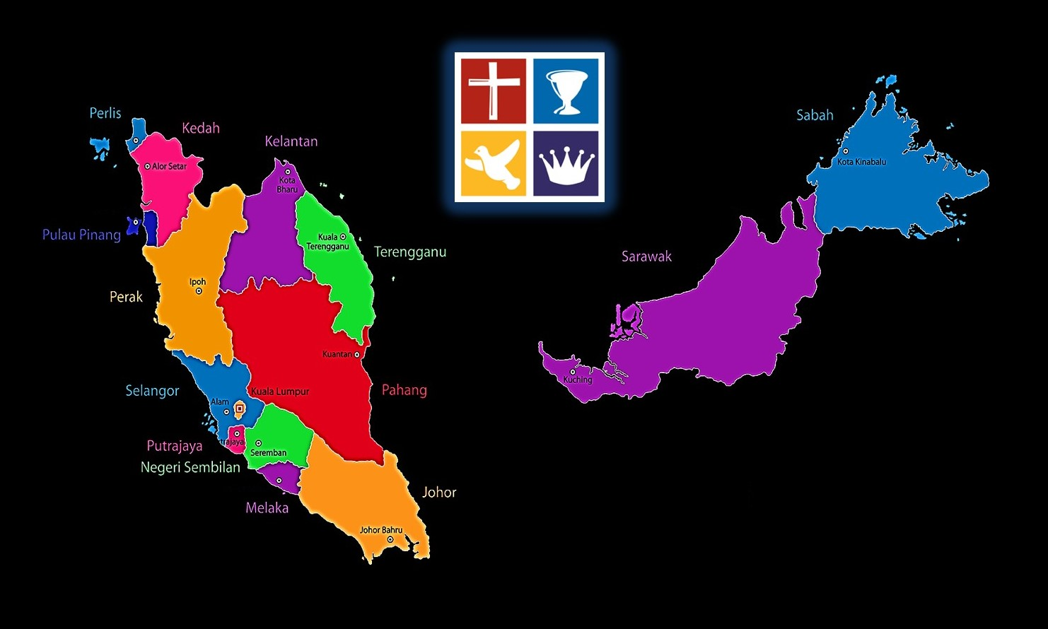 4Sq map